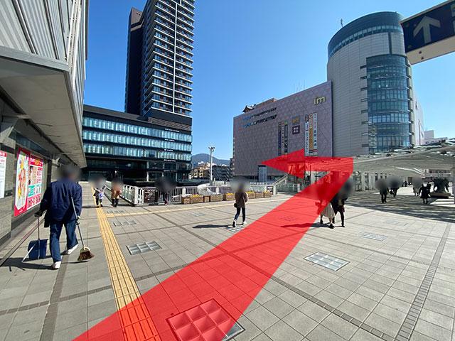 小倉駅からのアクセス3