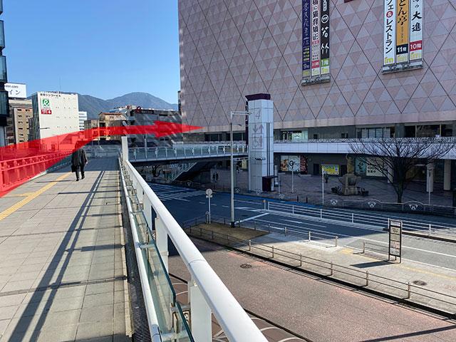 小倉駅からのアクセス4