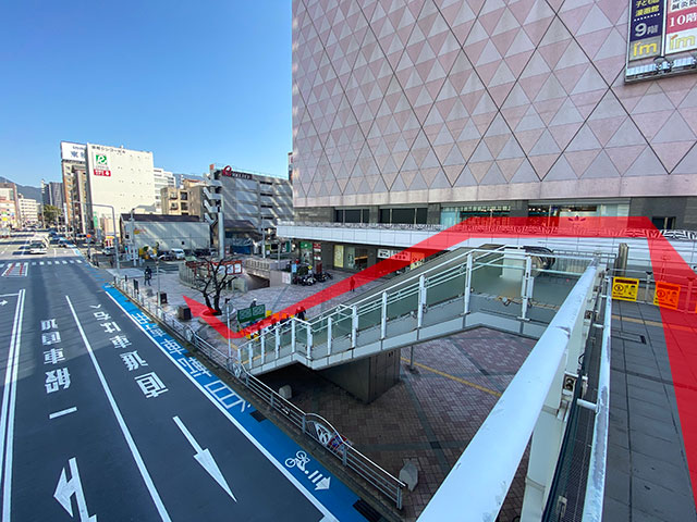 小倉駅からのアクセス5